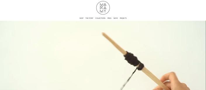 MaRaMi website, creare site web, web design, UI design, design, website