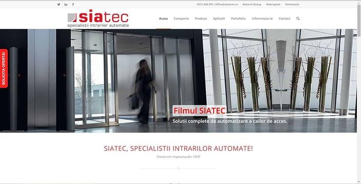 Siatec, creare site web