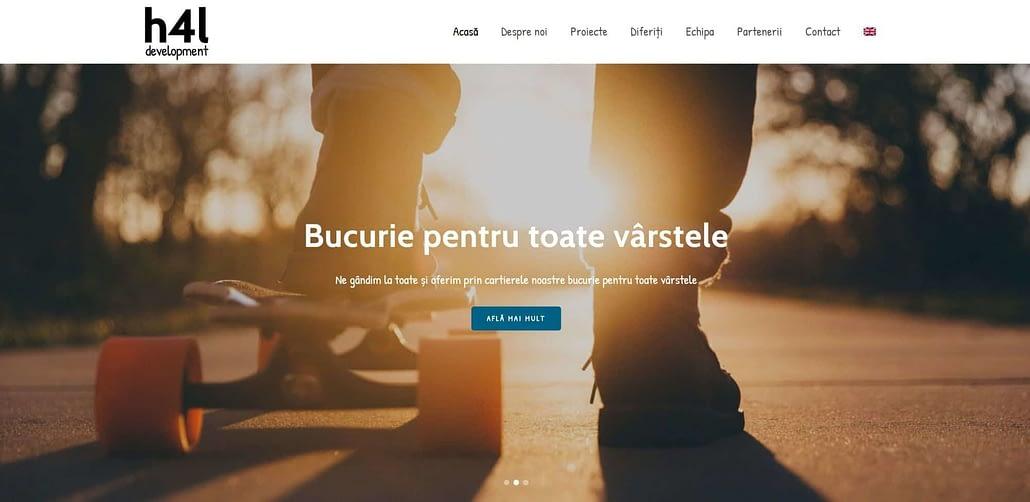H4L creare site web