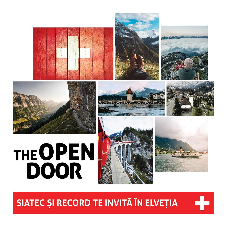 Record, concurs, The Open Door, fotografie, design, vizual