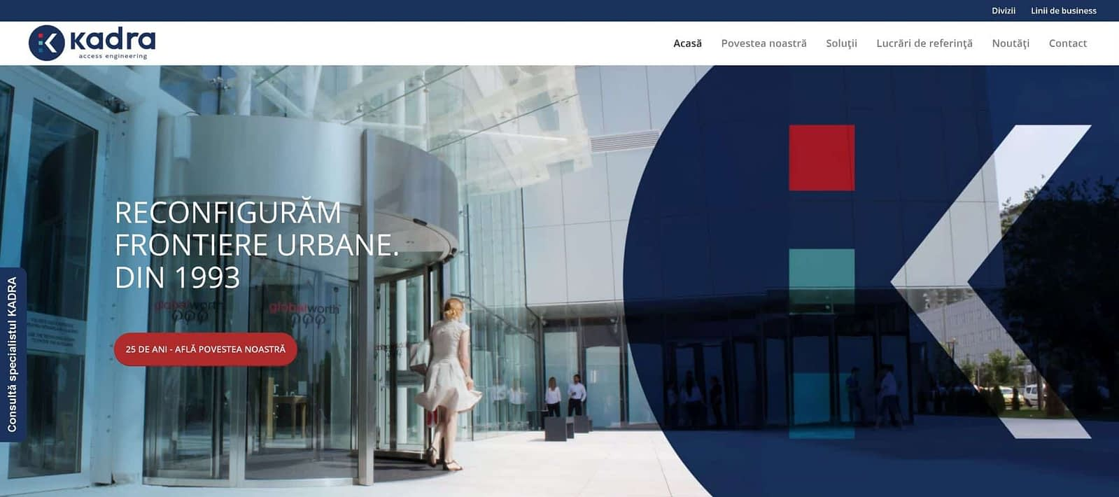 web design, KADRA, design, website, Toud, creare site web