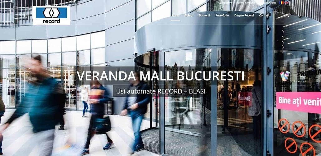 Record Romania creare site web