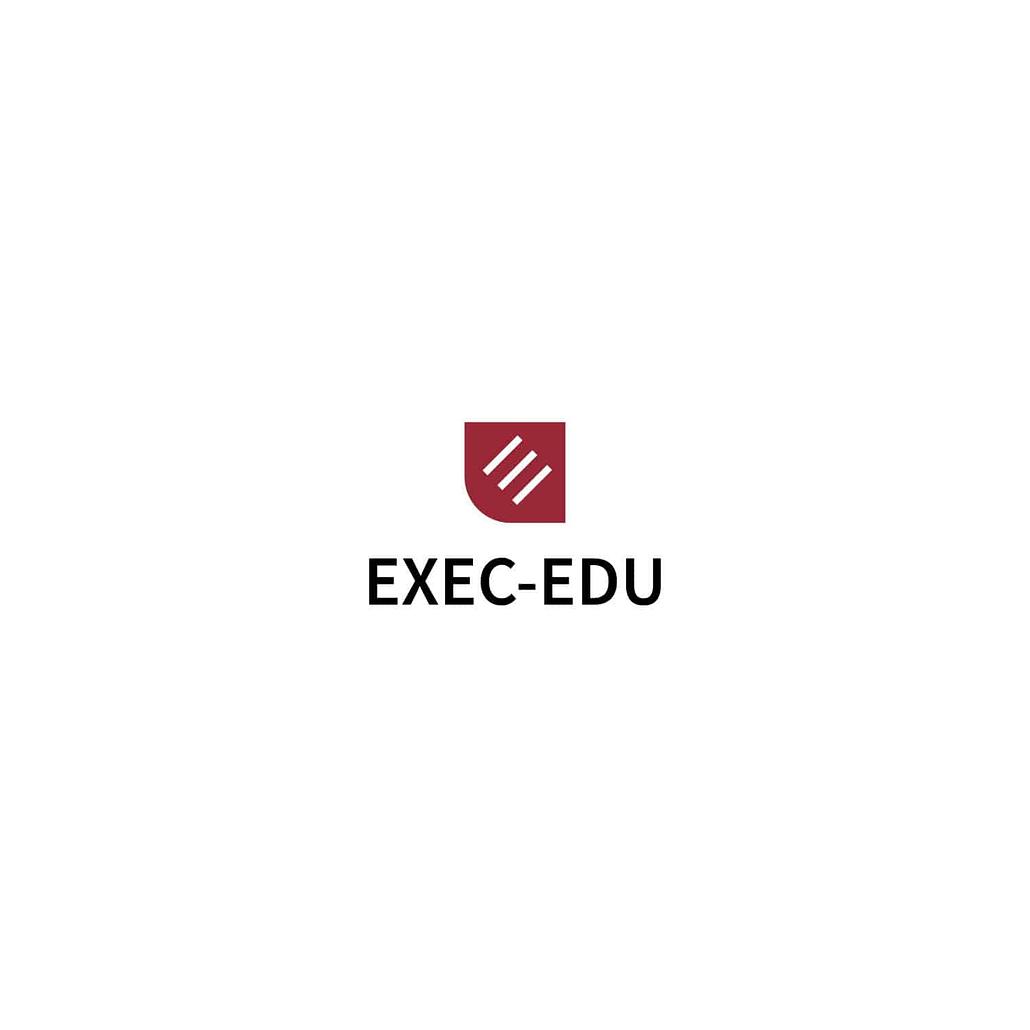 EXEC-EDU, logo, logo design, design, creare logo, identitate vizuala