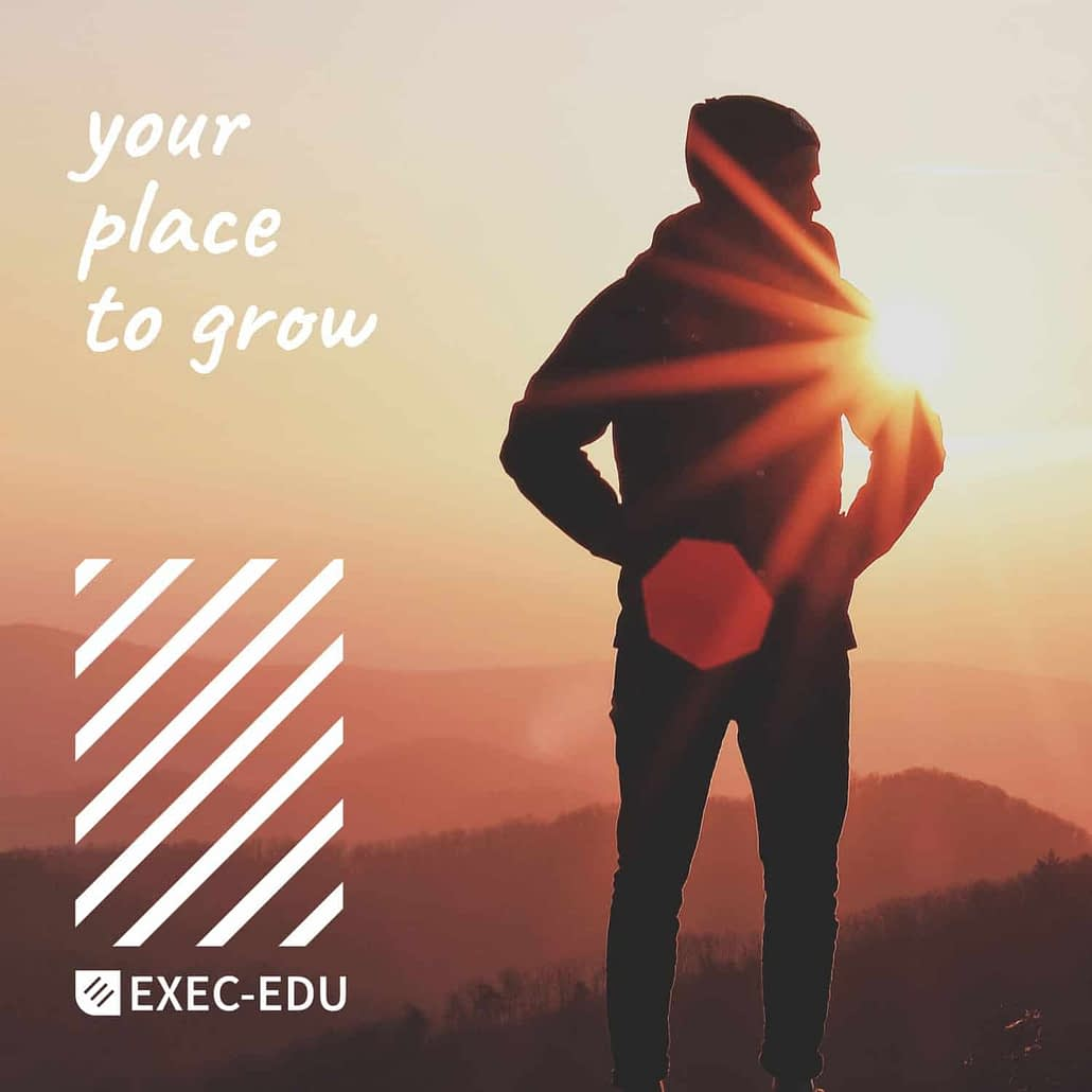 EXEC-EDU, training, formare, your place to grow, brand, branding, branding casa de training