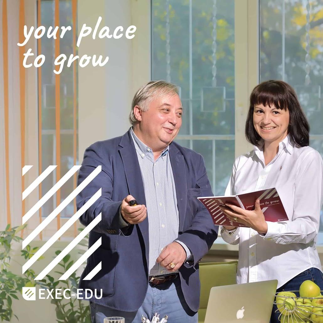 EXEC-EDU, identitate vizuala si website, web design, design, website, identitate vizuala, branding