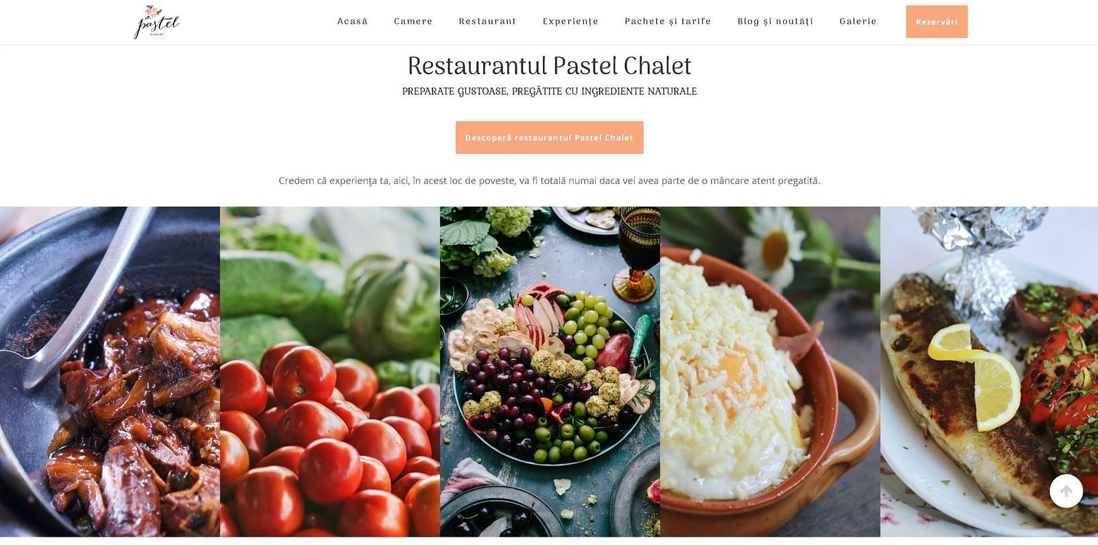 Pastel Chalet, realizare site web, web design, design, website, Toud(3)