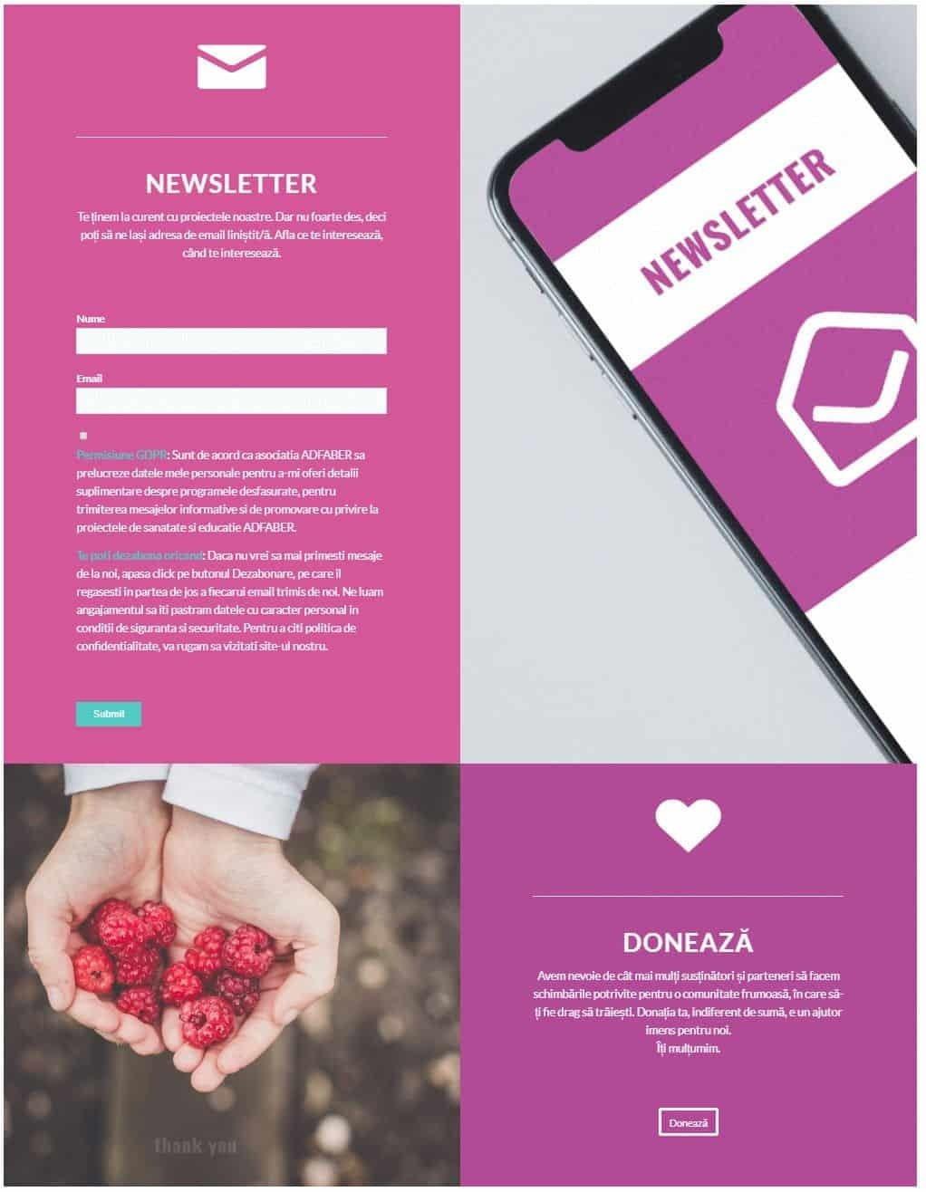 Adfaber, web design, website, design, Toud