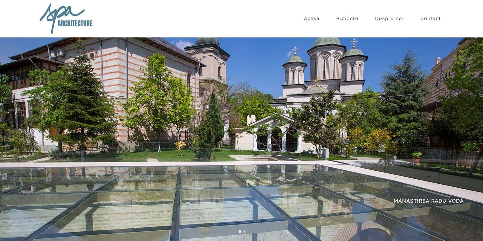 creare site prezentare, website, web design, web, design, Toud, realizare site web, SPA Architecture