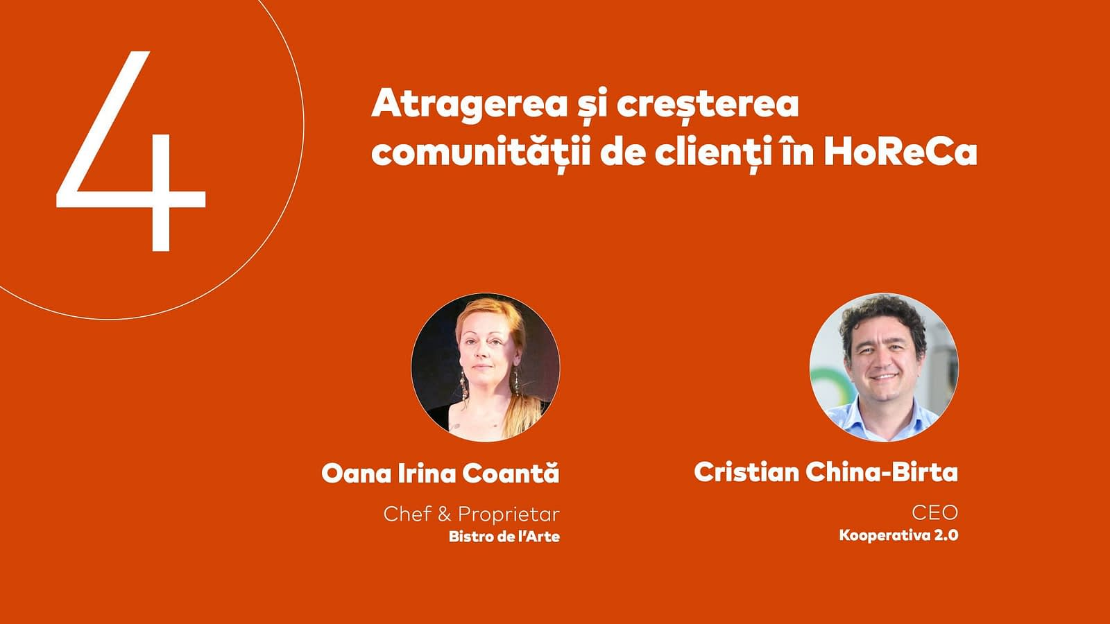 HoReCa Impreuna, sesiunea 4, design, web design, visual