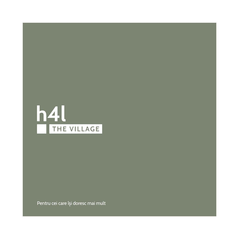 h4l, h4l THE VILLAGE, home 4 life, branding, design