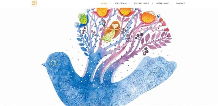 Galben Cerc, design website
