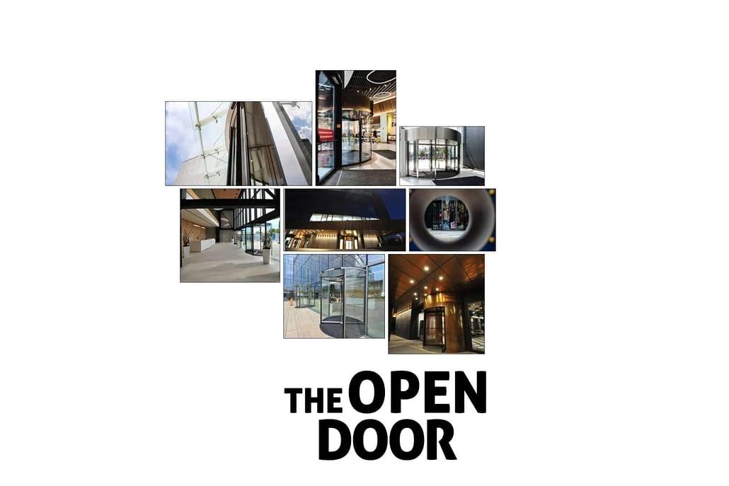 The Open Door, design, visual, presentation design