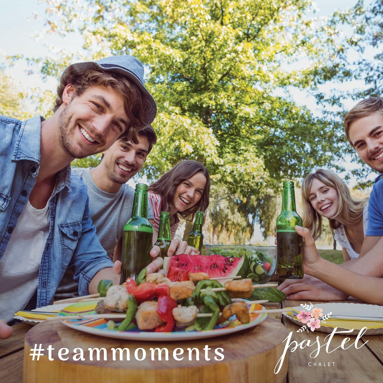 Team Moments, publishing design, design, brochure