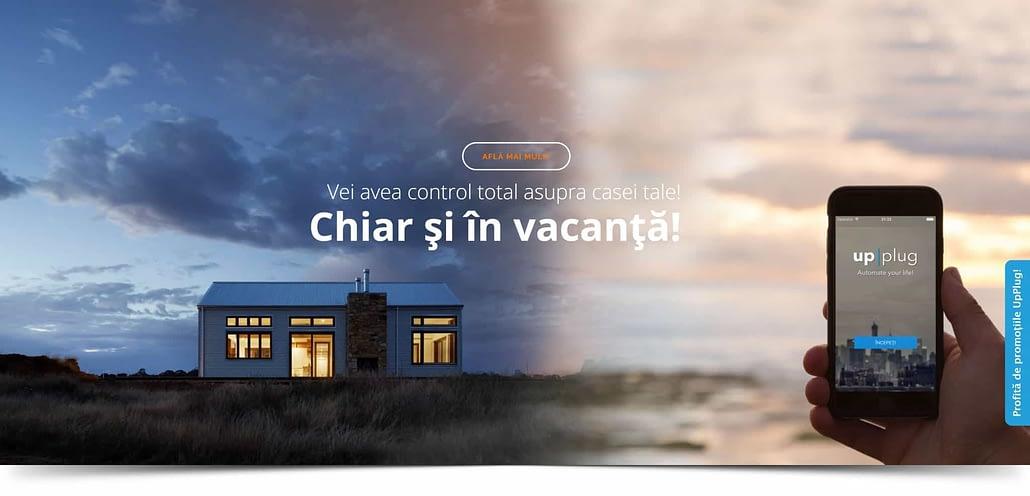 UpPlug design website