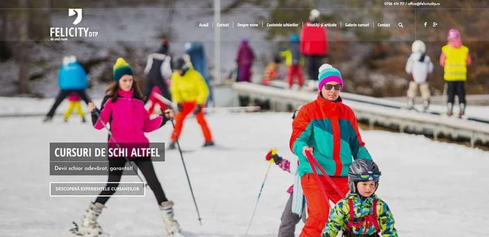 FelicityDTP, creare site web