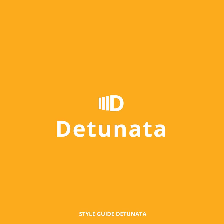 Detunata, design, identitate vizuala, style guide, logo, logo design
