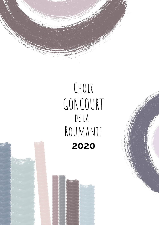 Goncourt brochure 2020, publishing design, design, booklet