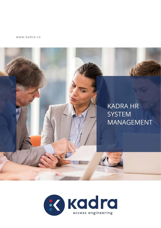 HR management system, publishing design, brochure, HRM presentation