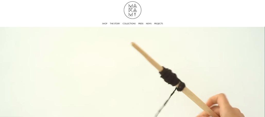 MaRaMi website, design website, web design, UI design, design, website